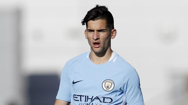 Benjamin Garre joined Manchester City at the age of 16 in July 2016