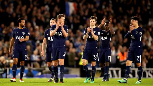 Brighton and Hove Albion v Tottenham Hotspur – Premier League – AMEX Stadium