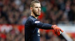Manchester United goalkeeper David De Gea is motivated by team trophies not personal awards