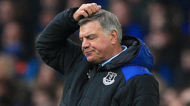 Fans were asked to rate Everton manager Sam Allardyce out of 10 in a questionnaire