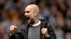 Pep Guardiola and Manchester City are now chasing records