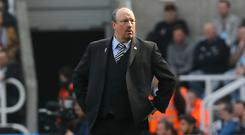 Rafael Benitez is considering his future at Newcastle, reports suggest