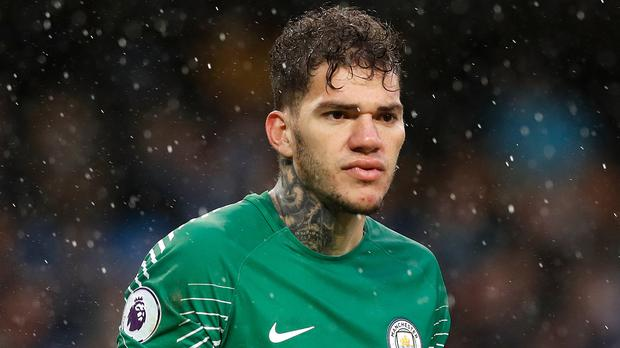 Ederson will miss Liverpool game