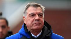 Sam Allardyce's Everton are up to eighth (Peter Byrne/PA)