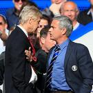 Arsene Wenger (left) and Jose Mourinho (right)