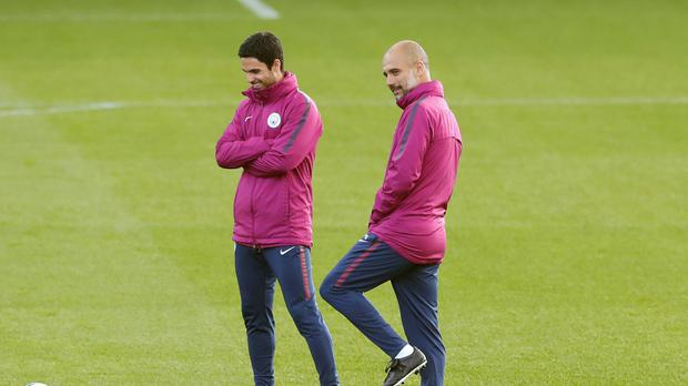 Manchester City Training Session – City Football Academy