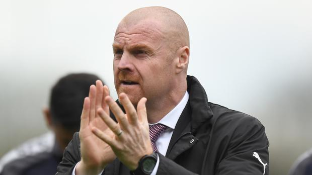 Sean Dyche's Burnley are on the verge of securing European qualification (Anthony Devlin/PA)