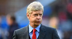 Arsene Wenger's final home match with Arsenal is against Burnley (Dave Howarth/PA)