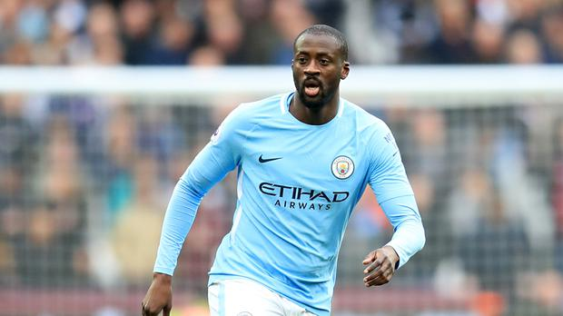 Yaya Toure will leave Manchester City in the summer (Adam Davy/PA)