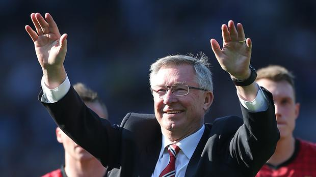 Alex Ferguson is recovering in hospital