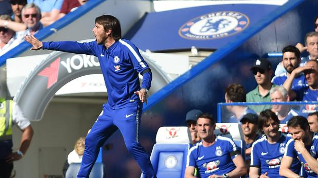 Antonio Conte is still chasing Champions League qualification
