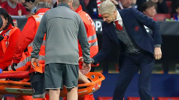 Arsene Wenger announced Laurent Koscielny will be sidelined for six months