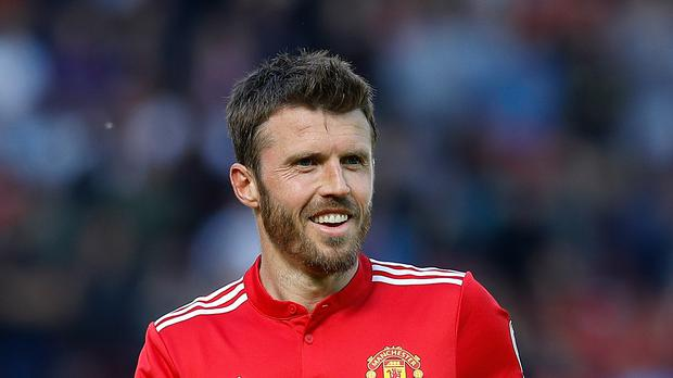 Michael Carrick said his farewells to Old Trafford