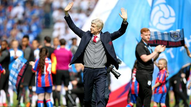 Arsene Wenger won his final game as Arsenal boss