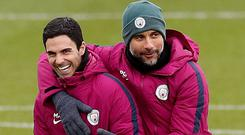 Pep Guardiola confirms he will give the green light to Mikel Arteta leaving Manchester City amid interest from Arsenal