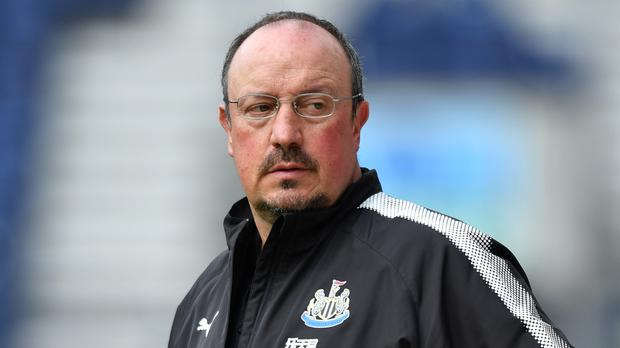Rafa Benitez is still in favour at Newcastle, reports say (Anthony Devlin/PA)