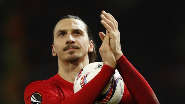 Zlatan Ibrahimovic has over 5million Twitter followers