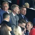 Sam Allardyce, right, and David Moyes