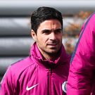 Mikel Arteta looks set to step out from Pep Guardiola's coaching shadow. Photo: Getty Images