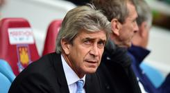 Former Manchester City manager Manuel Pellegrini looks set for a return to the Premier League at West Ham. (Adam Davy/EMPICS Sport)