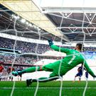 Eden Hazard slots a penalty past David De Gea for the only goal of the game