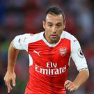 Santi Cazorla's last Arsenal appearance came in October 2016 (Adam Davy/PA)