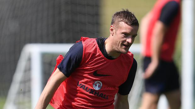 Jamie Vardy is preparing for the World Cup with England