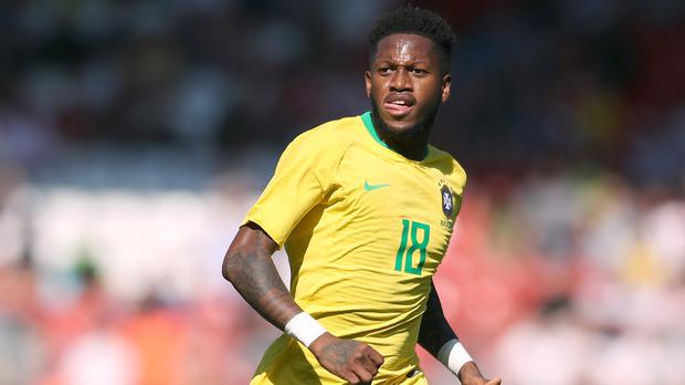 Image result for Brazil's Fred evasive on reports of Manchester United move