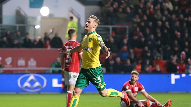 Norwich's James Maddison is close to joining Leicester. (Mark Kerton/Empics)