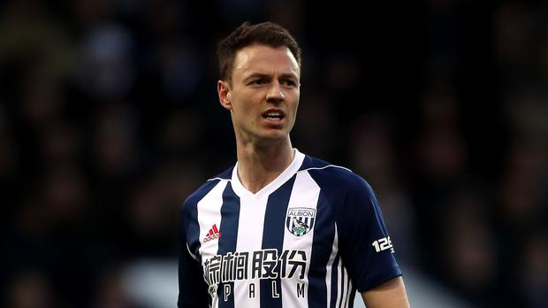 West Brom defender Jonny Evans is close to joining Leicester. (Nick Potts/PA)