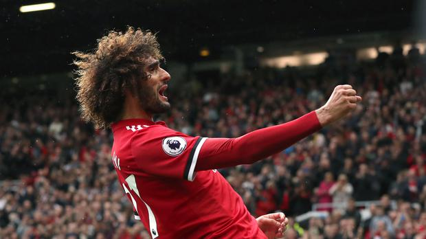 Marouane Fellaini could leave Manchester United this summer (Martin Rickett/PA)