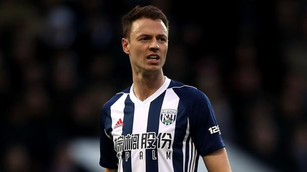 West Brom defender Jonny Evans has completed a move to Leicester (Nick Potts/PA)