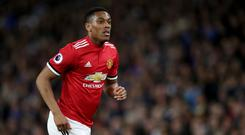 Anthony Martial has been at Manchester United since September 2015 (John Walton/Empics)