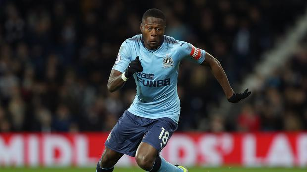 Newcastle defender Chancel Mbemba could be close to leaving St James' Park (David Davies/PA)