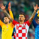 Croatia's Dejan Lovren. Photo: Getty Images