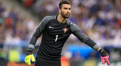 Rui Patricio is Portugal's number one (Mike Egerton/EMPICS)