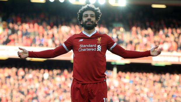 Liverpool's Mohamed Salah has helped tackle Islamophobia in his adopted home (Credit: Peter Byrne/PA).