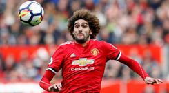 Manchester United's Marouane Fellaini will reveal his next destination on July 1 (Martin Rickett/PA)
