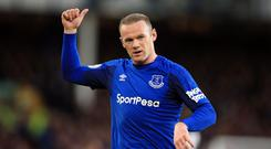 Wayne Rooney is set to end his second spell at Everton (Peter Byrne/PA)