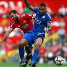 Manchester United and Leicester will be the first two teams in action (Dave Thompson/PA)