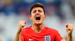 'Around the time of his debut against Lithuania in a qualifier, Maguire needed reassurance from Gareth Southgate that he belonged at this level' Photo: Getty