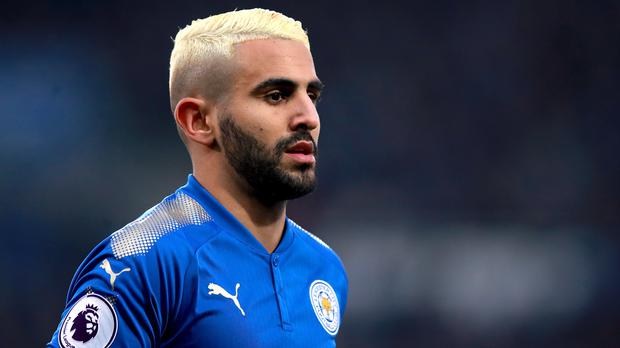 Riyad Mahrez has joined Manchester City from Leicester (Mike Egerton/PA)