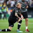 A mistake in Liverpool's pre-season friendly win at Tranmere has put the focus back on goalkeeper Loris Karius (Nick Potts/PA).