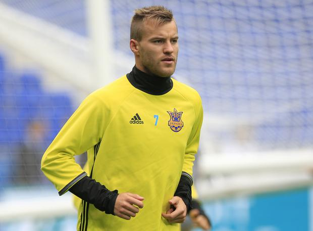 Andriy Yarmolenko has scored 35 goals for Ukraine (Jonathan Brady/PA)