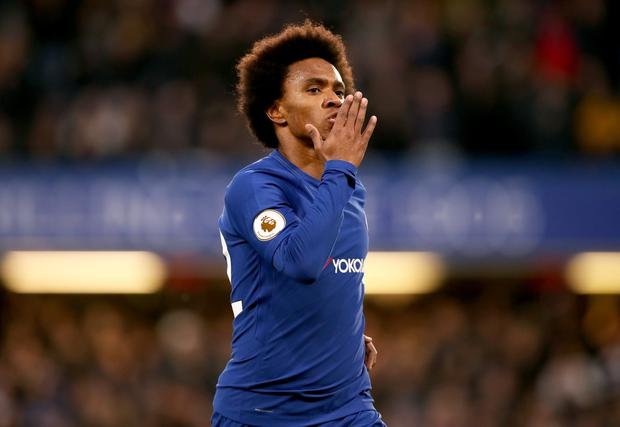 Willian Fails To Report For Chelsea Training Amidst Real Madrid Rumours