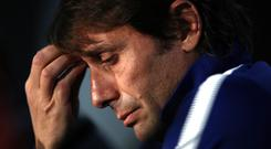 Antonio Conte made no reference to any dispute with Chelsea in a statement issued following his sacking (John Walton/PA)