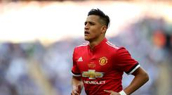 Manchester United's Alexis Sanchez has not joined the club on its pre-season tour of the United States (Nick Potts/PA)