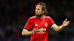 Daley Blind has left Manchester United to return to former club Ajax (Martin Rickett/PA)