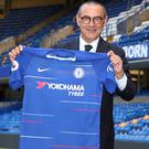 Maurizio Sarri has signed a three-year deal at Stamford Bridge (Steve Paston/PA)