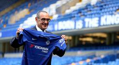 Maurizio Sarri has plenty to ponder at the start of his spell as Chelsea head coach (Steve Paston/PA Images)